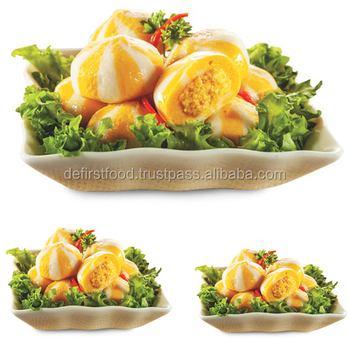Delicious Sea Urchin Flavoured Fish Ball Seafood Product