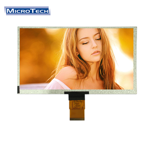 9 inch 50 PIN 800*480 RGB tft lcd touch screen monitor