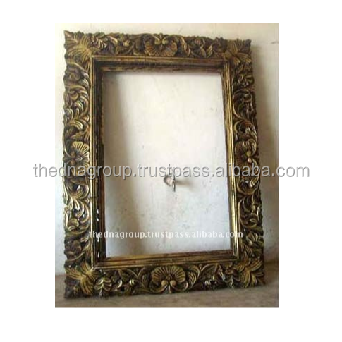 wooden antique home decor mirror frames