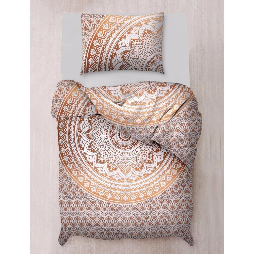 Indian Hippie Duvet Donna Cover Comforter Mandala Queen Size Quilt Cover Blanket