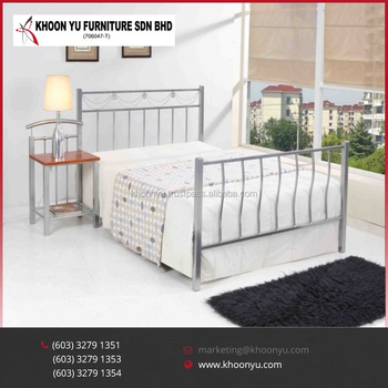 Luxury Queen Bedroom Set Lyvia Double Metal Bed Furniture Made In Malaysia Product On