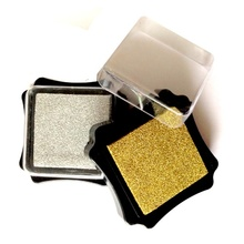 Inking Pads in Gold or Silver