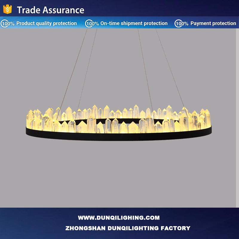 Customized Contemporary LED tiffany pendant lamp