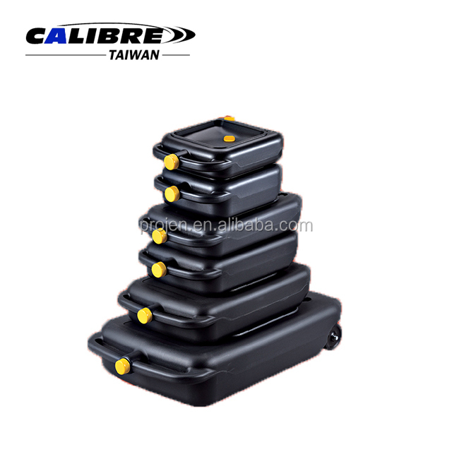 CALIBRE 4L-10L Portable Oil/Fluid Drain Tank Oil Drain Pan and Can Oil Drain Pan & Recycle Container