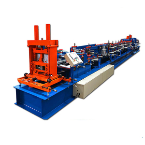 c purlin production line din rail roll forming machine z purling color glazed steel tile roll forming machine