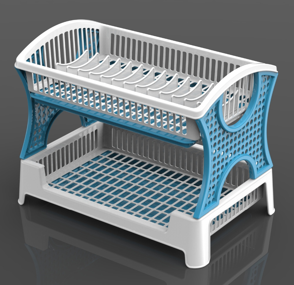 Plastic Folding Dish Rack, Plastic Folding Dish Rack Suppliers and ...