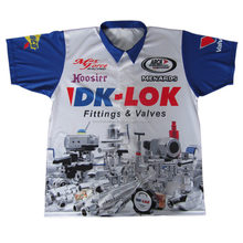 Sublimiert Workshirts, Corporate, Racing, Grube oder Bowling Shirt
