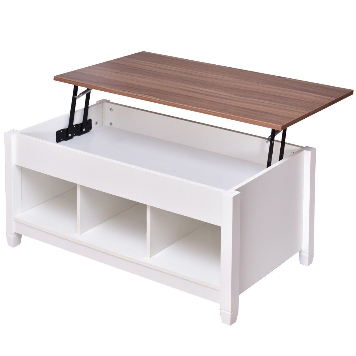 Get Quotations Tangkula Coffee Table Lift Top Wood Home Living Room Modern Storage W