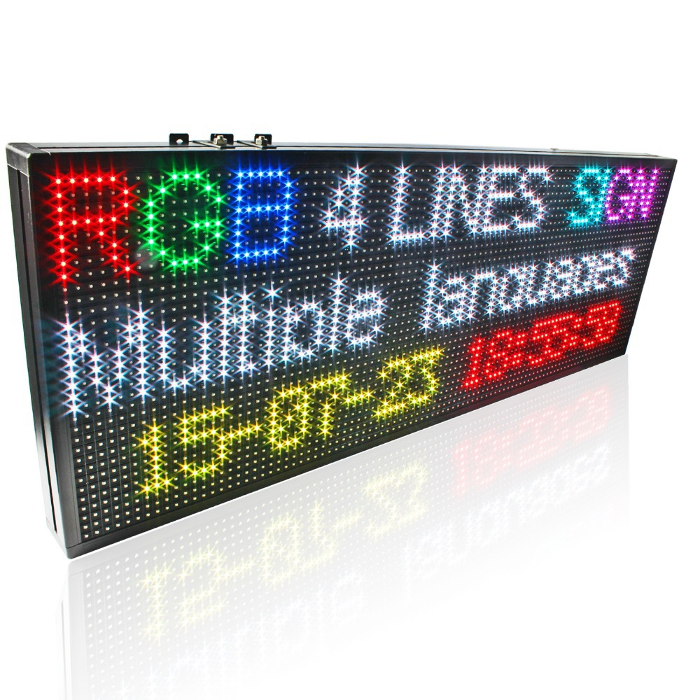 RGX 프로그램 led message board, Remote controller led moving message LED Sign Board panel