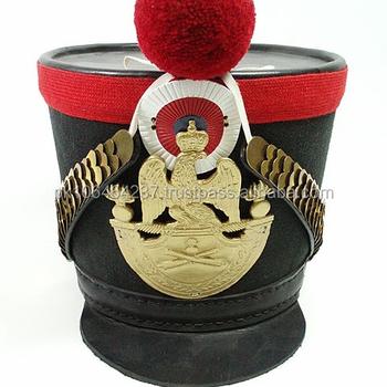 French Napoleonic Shakos Hat - Buy Replica Napoleonic Shakos Hats ... c2aa7da0b7f