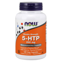 5-HTP, Double Strength 200 mg - 120 Veg Capsules