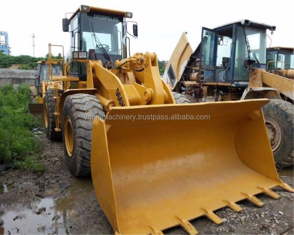 90% new Used condition caterpillar loader 966H, used cat loader 966h