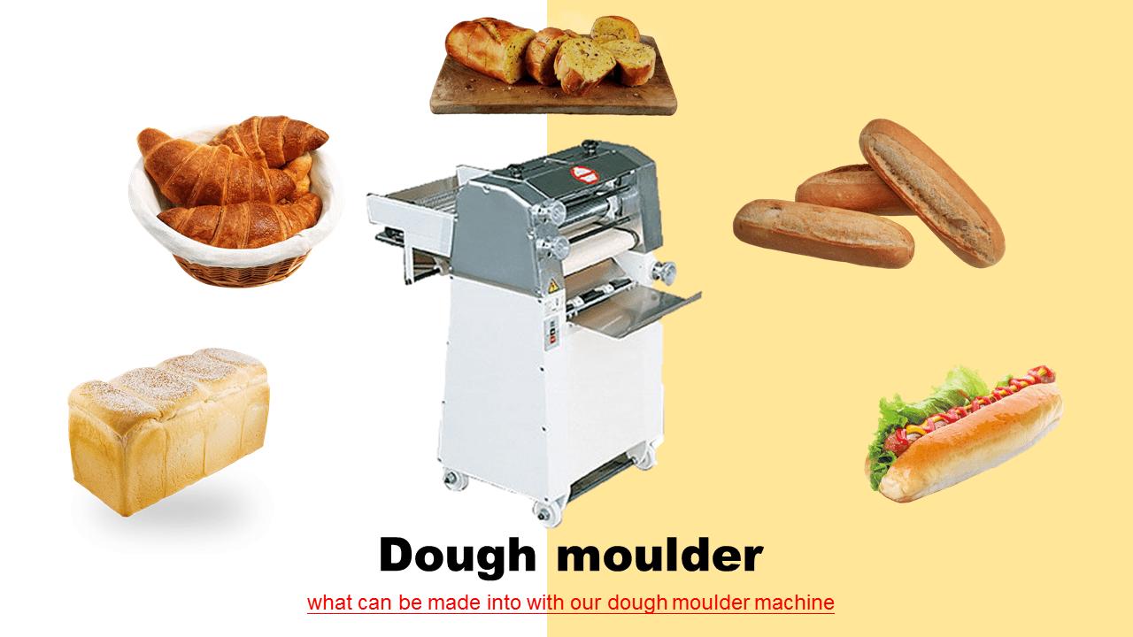 반죽을 압박와 형태를 French Baguette 만들기 Mould 압 연 기계