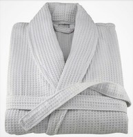 Wholesale 100% Cotton Hotel Terry Bathrobes Waffle Bath robes