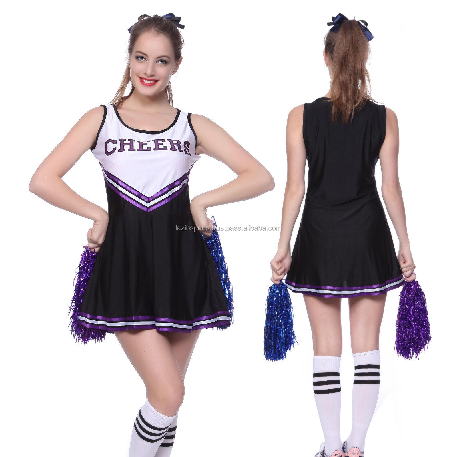High School Teen Cheerleader