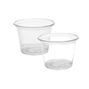 High Quality Disposable Plastic Portion Souffle Cup & Lid For Sauce and etc