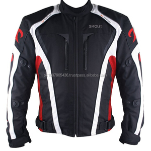 Men Waterproof Cordura 600D Motorcycle Jacket