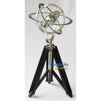 Nautical Globe With 3 Leg Stand