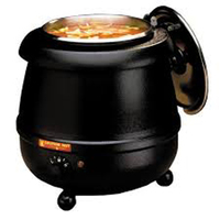 10 Litre buffet soup warmer, electric soup kettle, large soup kettle