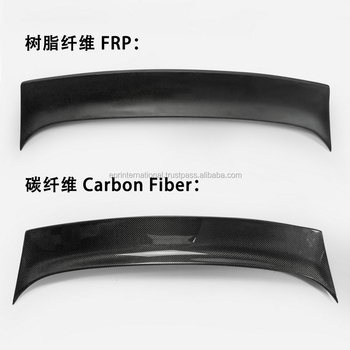 Carbon Fiber Supermade Instant Gentleman Rear Duckbill Spoiler For 350z Z33