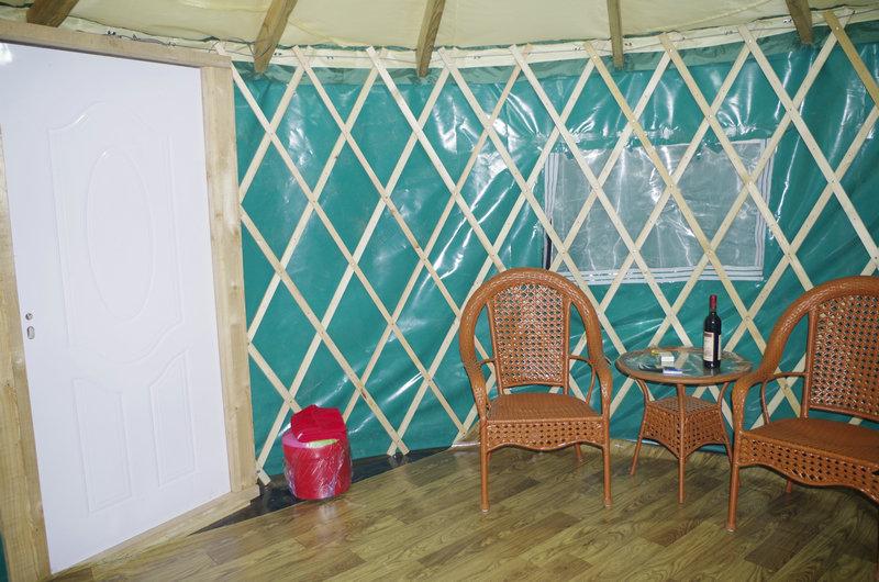 20ft Modern Yurt With Insulation Layer - Buy Yurt,20ft Yurt ...