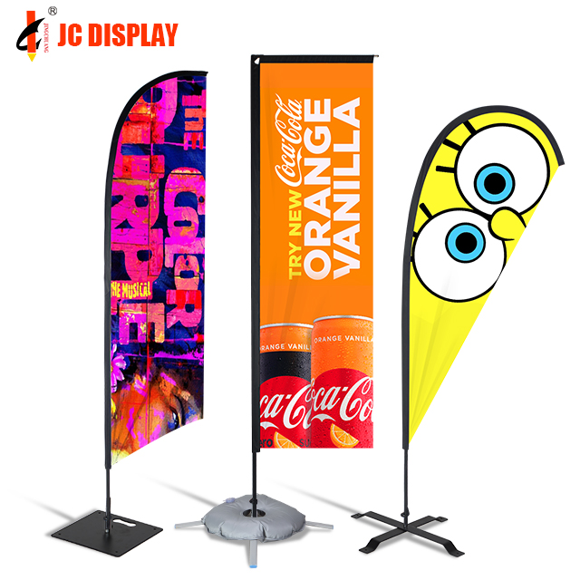 Outdoor Printed Promotional Business Advertising Feather Beach <strong>Flag</strong>