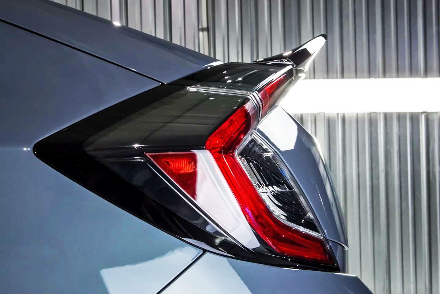 Spoiler in carbonio Per Honda Civic X 5D Hatchback CATENA DTO Stile Posteriore Boot Tronco Spoiler 2018