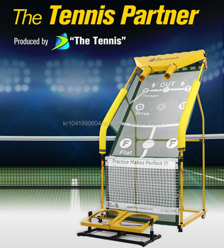 De Tennis Partner 3 (DRIE)/Tennis Backboard/Tennis Self Training Machine
