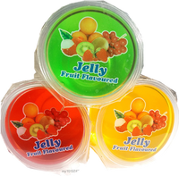 Packed Mix Fruit Jelly 130 g x 3 cup