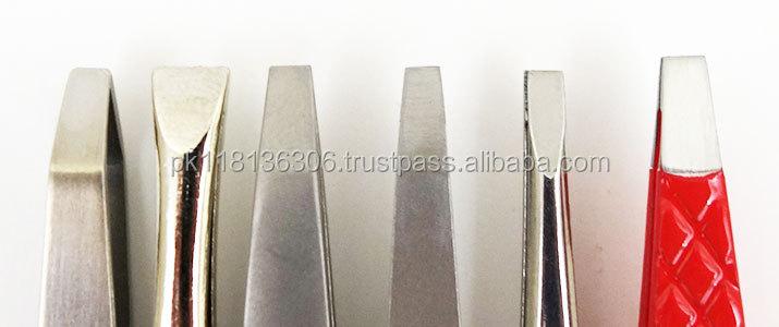 Kundenspezifische Eigenmarke 80-Grad-Engels-Wimper Volumenverlängerungspinzette