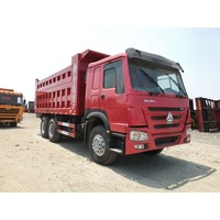 336hp 371hp 375hp used SINOTRUK HOWO 10 wheel tipper truck load capacity 25 ton dump truck 6x4 for sale