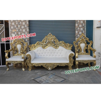 Enjoyable Indian Wedding Heavy Carving Sofa Set Engagement Party Wedding Sofa Set Wedding Thrones Couch Two Seater Buy Wedding Couch Set For Bride And Inzonedesignstudio Interior Chair Design Inzonedesignstudiocom