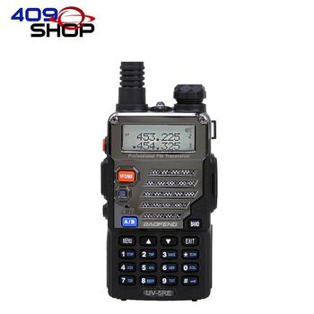 409 loja BAOFENG UV-5RE Dual Band Standby VHF UHF Rádio Walkie Talkie UV5RE com Rádio FM com 128 canais
