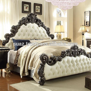 Queen Size Bed Set King Sets Double Luxury Wooden