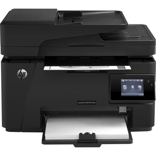 """Hp Laserjet Pro M127fw Laser Multifunction Printer . Monochrome . Plain Paper Print . Desktop . Copier/Fax/Printer/Scanner . 21 Ppm Mono Print . 1200 X 1200 Dpi Print Lcd . 1200 Dpi Optical Scan . Fast Ethernet . Wireless Lan . Usb """"Product Type: Printers/Multifunction Printers"""""""