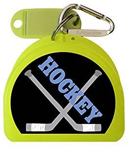 Zumoe Ice Hockey Mouth Guard, Dental, Retainer Case - Puck