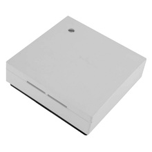 Room temperature sensor RF1 - wall construction, white plastic case, for mounting on 55 mm switch box, range: 0...50 celsius