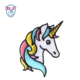 Unicorn Embroidery Patches Embroidered design