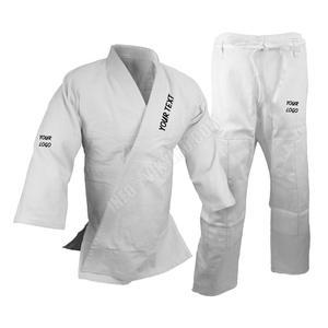 100% Cotton Judo Gi Double Weave White martial arts clothes bjj gi Kimono  judo uniforms