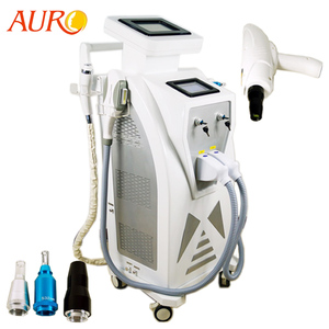 AURO 2019 OPT Q Switch ND YAG Laser Tattoo Removal Laser Hair Removal Machine