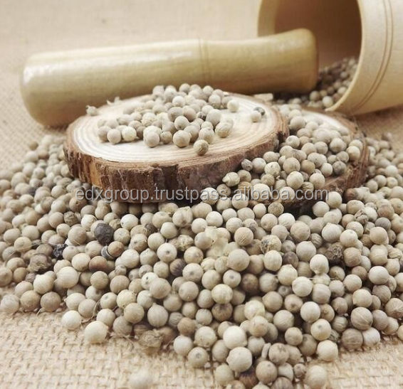 Natural spice white pepper from Vietnam