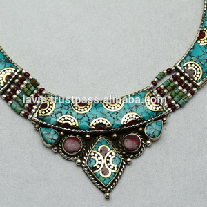 Wholesale Tibetan Beautiful Charm Fashion Necklace Jewelry Vintage Necklace, Fine Jewelry