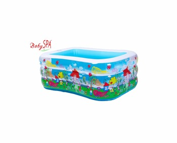Kids Inflatable Indoor Mini Swimming Pool Pit Playhut Infoor Ball For Baby PVC Paddling