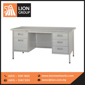 Malaysia High Quality Office Furniture Table Steel Desk Series