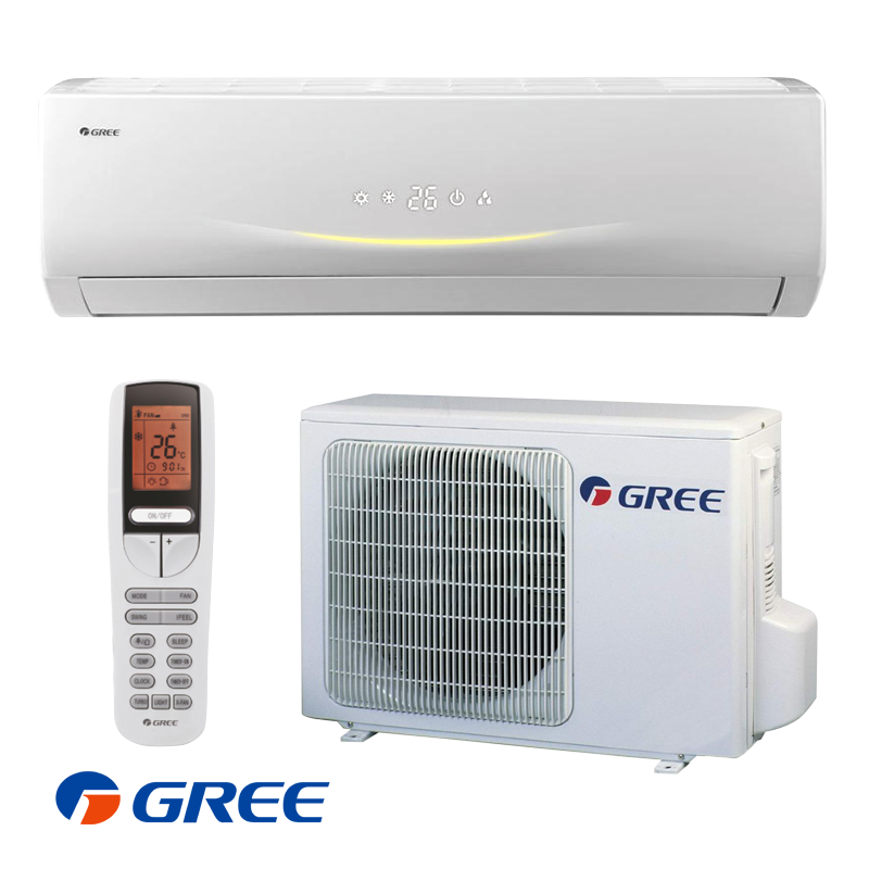 Inverter Air conditioner Gree Viola GWH12RB / K3DNA3C (Wi-Fi) with A++/A  energy class of cooling / heating, View split air conditioner, Gree Product