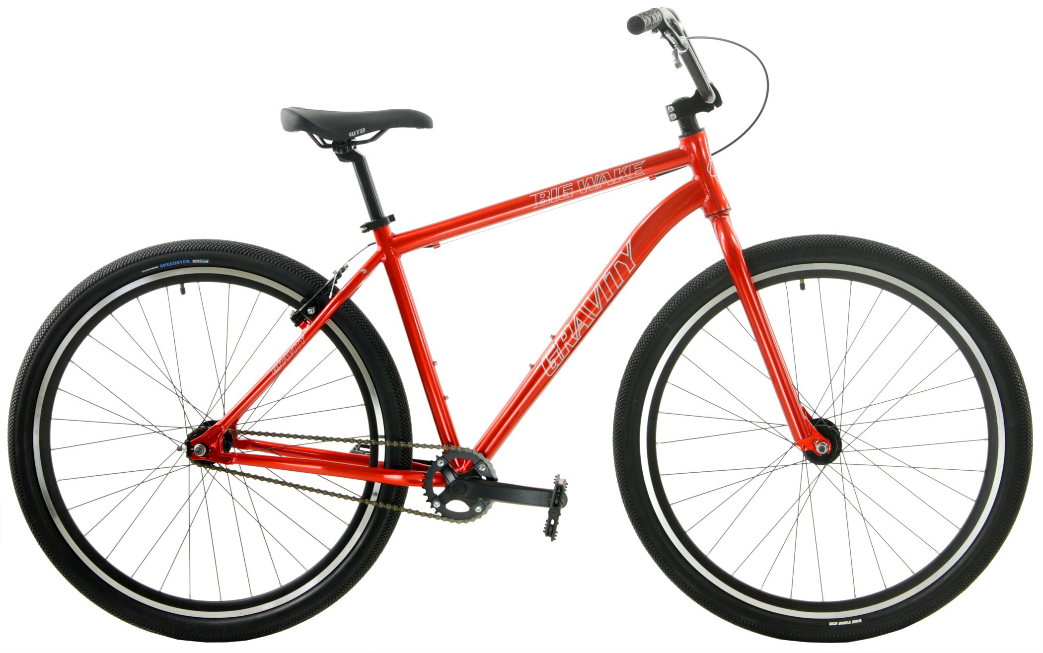 Gravity Single Speed Cruiser 29er Adult BMX Bike