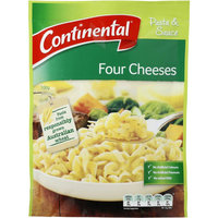 Continental Pasta & Sauce Four Cheeses 100g cook a complete meal in 15 mins