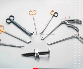 Aotic Punches, Forceps , Scissors Cardiovascular surgical instruments