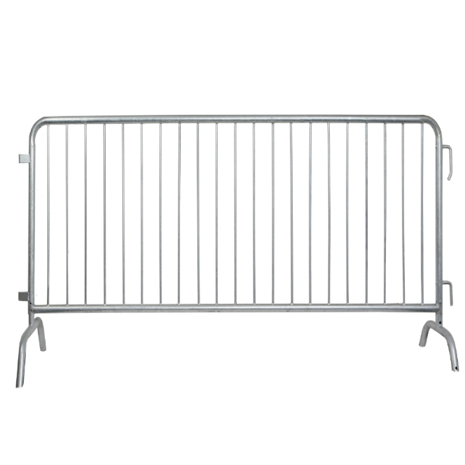 2.4*1.5mHot sell Heavy duty galvanised traffic road safety pedestrian crowd control barriers