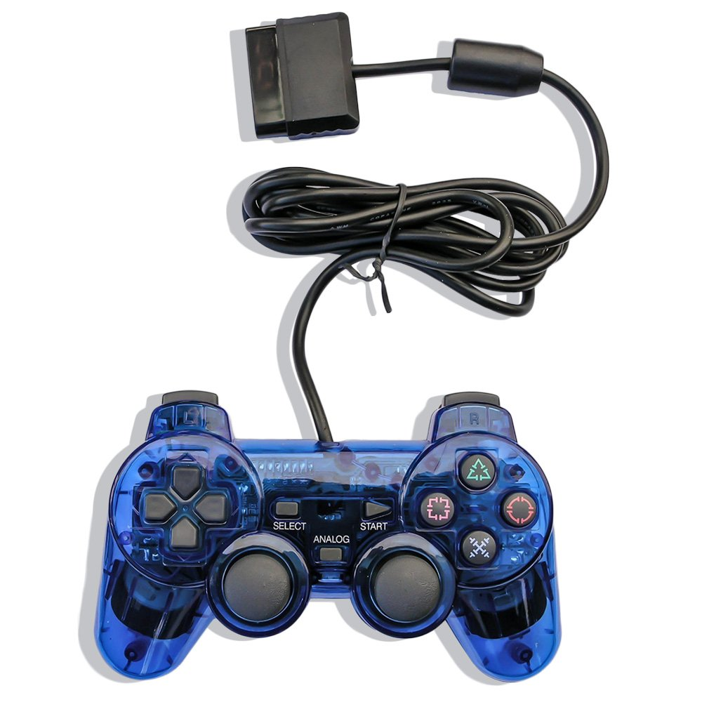 New Release Transparent Ps2 Game <strong>Controllers</strong>